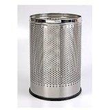 Convenient & Stylish Stainless Steel Smell- Waste Bin