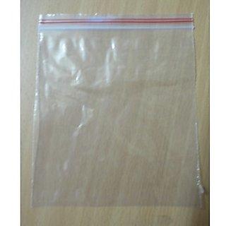LDPE Zip Lock Bags 100 Pcs (9 x 12 Inch)