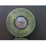 Matelic Finish Designer Wall Clock By Terro ArtsTD-3545