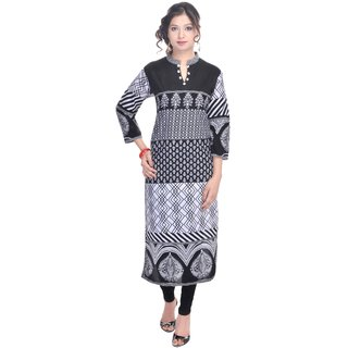 Vihaan Impex Designer Handmade Cotton Kurti Top Casual  Formal Wear