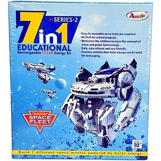Educational Rechareable Solar E Kit, Multi Color