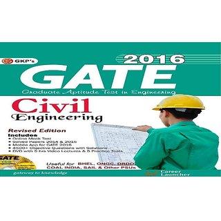 GATE 2016 CIVIL ENGINEERING BOOK