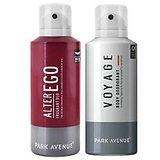 Park Avenue  deo Set of 2 (Alter Ego & Voyage)For Men