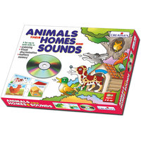 Animals,Their Homes And Sounds (CD)