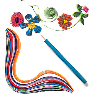 Colourful Paper Quilling Kit