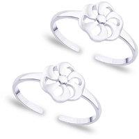 Taraash Floral 925 Sterling Silver Toe Ring For Women Lr0629S