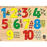 Skilofun Number With Picture Tray 1 10 With Knobs