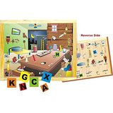 Skilofun Magnetic Twin Play Tray Alphabet Attic