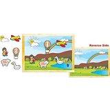 Skilofun Magnetic Twin Play Tray Rainbow Scene