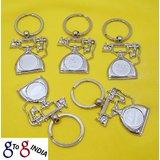 Car Logo Toyota Audi Ford Hyundai Bmw Stainless Steel Key Chain Ring