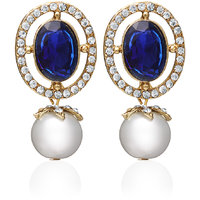 Zaveri Pearls Pearl Dangle & Drop Earring