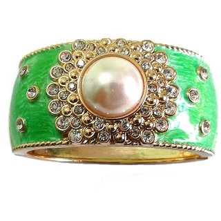 Fancy Green Bangle / Bracelet - 770