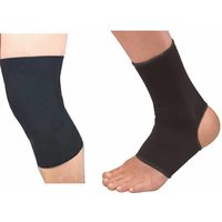 Pack Of Ankle And Knee Support One Pair Each