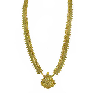 Womens Trendz Long Laxmi Pendant Haar Necklace