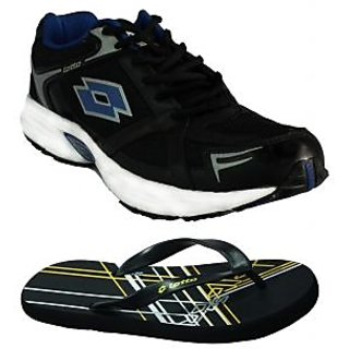 Antalya Men's Black Sports Shoes