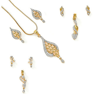 Daily wear CZ Pendant Collection by Xcite - BYCOMBO3