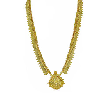 Womens Trendz Long Laxmi Pendant Haar Necklace