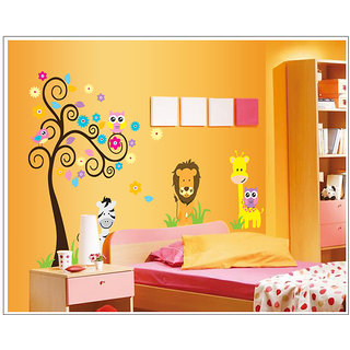 Attrractive wall decorative stickers with Animal