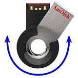 SanDisk Cruzer Orbit 8GB USB Flash Drive 8 GB Pen Drive