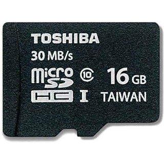 Toshiba 16 Gb Micro Sd Memory Card Class 10