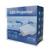 10-100 LED Projector For TV, DVD, PC With SD, USB, AV In, VGA, HDMI, CoaxialTV