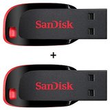 SANDISK 32GB CRUZER BLADE PEN DRIVE (PACK OF 2)