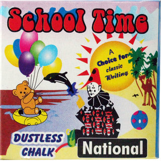Dustless Chalk Set Of 6