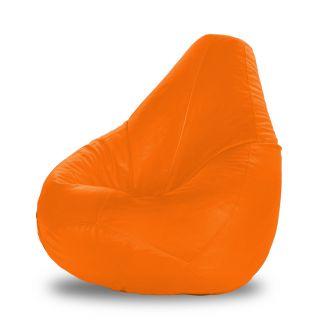 Dolphin XXXL Bean Bag-Orange-With Bean/Filled