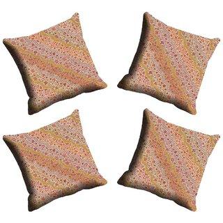 meSleep Beige Cushion Cover (20x20)