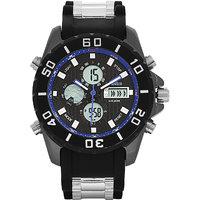 Blackwood BW-WAD-BLU-SS15-AV596 Analog Digital Watch