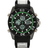 Blackwood BW-WAD-GRN-SS15-AV596 Analog Digital Watch