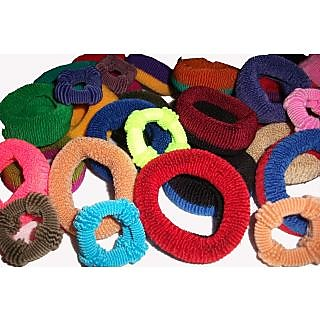 Pack of 72 Pieces Elastic Hair Band for Girls and Women - Assorted Colours