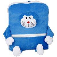 Deals India Kids Shoulder Bag With Sky Blue & White Colour (38 x 30 x 10 cm)(bag1)