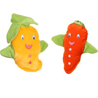 Deals India Mango and Carrot Hand Puppet(Set of 2)