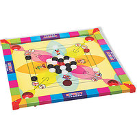 DDH Carrom board with Ludo  Snakes Medium size(20 Inch)