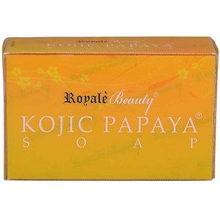 Royal Beuty Kojic Papaya Soap For Skin Whitening (120 g)