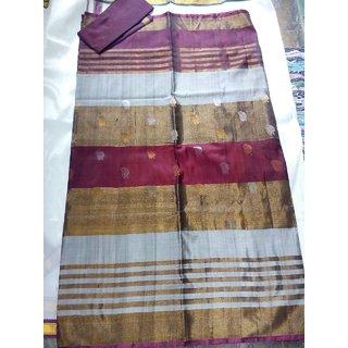 Uppada pattu sarees with buta