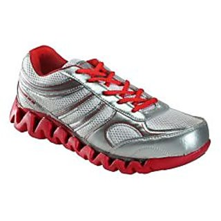 Yepme Enigma Sports Shoes- Red & Silver
