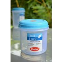CHETAN 4 PC SET, PLASTIC KITCHEN STORAGE CONTAINER 1.0 LTR. AIRTIGHT Rs 379/