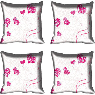meSleep Heart Digital printed Cushion Cover (16x16)