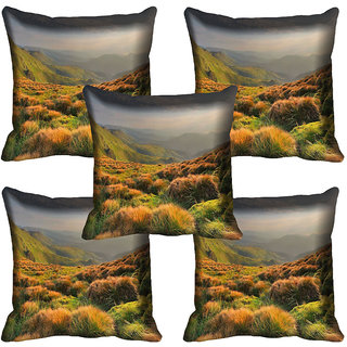 meSleep Nature Digital printed Cushion Cover (16x16)
