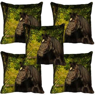meSleep Wild Life Digital printed Cushion Cover (16x16)
