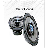 Car 4 Speakers  100 W Pp Cone Dvd Holder Warranty