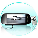 Car Rear View Mirror Display W Usb Can Play Dvd Mp3free Dvd Holder Warranty