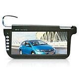Car Sunvisor Tft Lcd Screen Monitor Free Dvd Holder Warranty