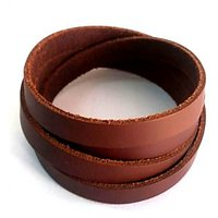 Leather wrist band ...high quality product