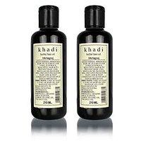 Khadi Natural Bhringraj Hair Oil - 210ml (Set of 2)