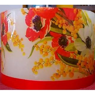 Homemade Designer Decoupage Candles