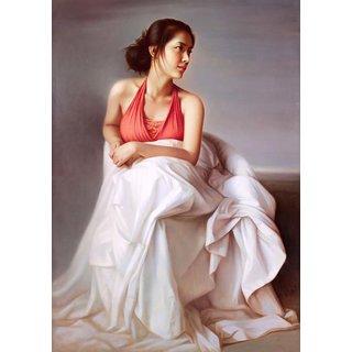 Mesleep Lady In Dress Canvas