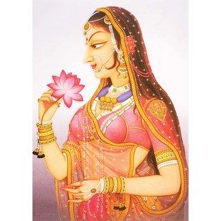 Mesleep Rani With Flower Canvas
